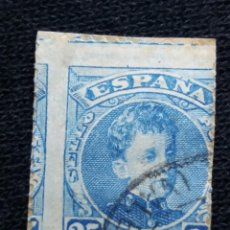 Sellos: ESPAÑA, 25 CENT, ALFONSO XIII, AÑO 1901.. Lote 194231121