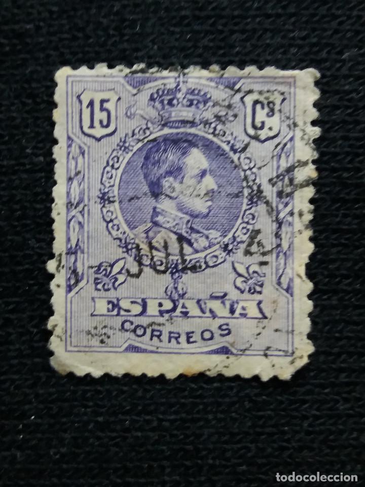 ESPAÑA, 15 CENT, ALFONSO XIII, AÑO 1930. (Sellos - España - Alfonso XIII de 1.886 a 1.931 - Usados)