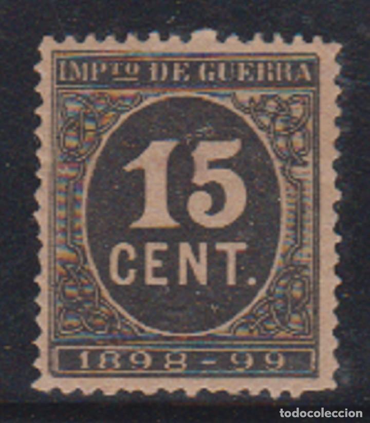 EDIFIL 238 (*). 15 CTS CIFRA EN COLOR NEGRO. CATÁLOGO 125 € (Sellos - España - Alfonso XIII de 1.886 a 1.931 - Nuevos)