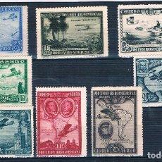 Sellos: ESPAÑA 1930 PRO UNIÓN IBEROAMERICANA SERIE CORTA MENOS EDIFIL 590 VER EXPLICACIÓN FOTOS. Lote 194342263