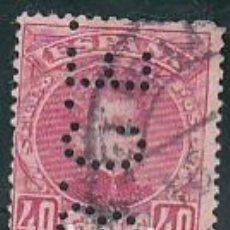 Sellos: ESPAÑA.- SELLO Nº 251 ALFONSO XIII PERFORADO B.C.E.. MATASELLADO. . Lote 194764787