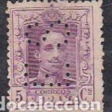Sellos: ESPAÑA.- SELLO Nº 311 ALFONSO XIII PERFORADO E.S. MATASELLADO. . Lote 194765182
