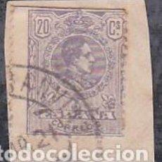 Sellos: ESPAÑA.- SELLO Nº 290 DE ALFONSO XIII MATASELLOS TRANSVIAS. . Lote 194766600