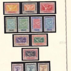 Sellos: B91 EDIFIL Nº 517-530 * NUEVOS CON GOMA Y LIGERISIMA SEÑAL DE FIJASELLOS. Lote 194936471