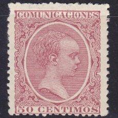 Sellos: C53 ALFONSO XIII PELÓN EDIFIL Nº 224 *. Lote 194981691