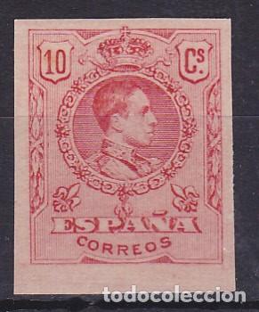 C87 MEDALLÓN PRUEBA GALVEZ Nº 1799 COLOR CARMÍN (Sellos - España - Alfonso XIII de 1.886 a 1.931 - Nuevos)