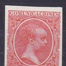 Sellos: C89 ALFONSO XIII PELÓN GALVEZ Nº 1485 COLOR BERMELLON. Lote 195016523