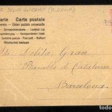 Sellos: CARTERÍA TIPO II *LA SELVA DE CAMP - TARRAGONA* SOBRE TARJETA POSTAL FECHADA 1905.. Lote 195128316