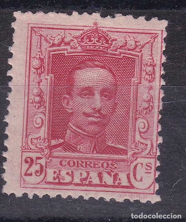 BB4- ALFONSO XIII VAQUER EDIFIL 317N , VARIEDAD MUESTRA ** SIN FIJASELLOS. . (Sellos - España - Alfonso XIII de 1.886 a 1.931 - Nuevos)