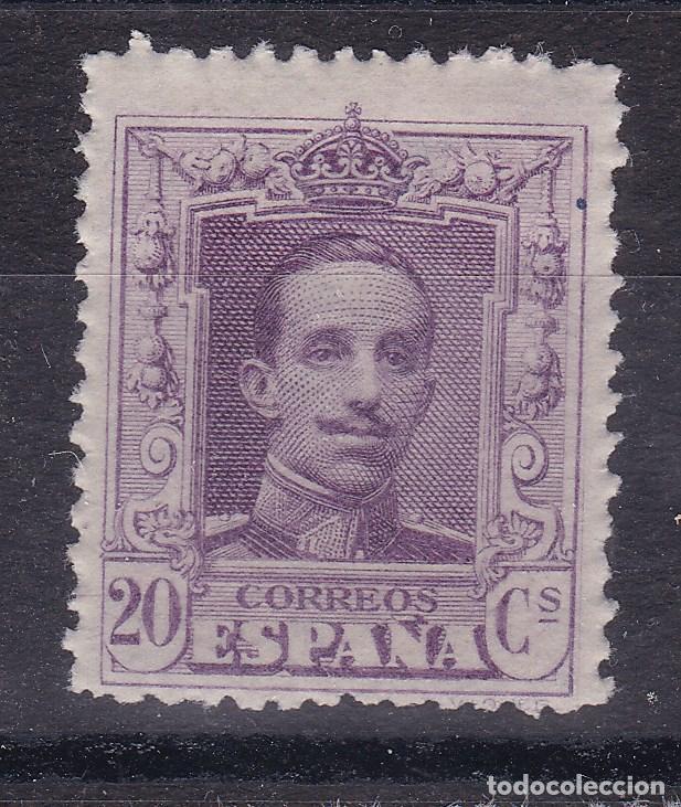 BB4- ALFONSO XIII VAQUER EDIFIL 316N , VARIEDAD MUESTRA ** SIN FIJASELLOS. . (Sellos - España - Alfonso XIII de 1.886 a 1.931 - Nuevos)
