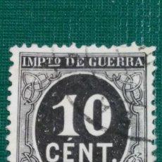 Sellos: SELLO ESPAÑA Nº 237. CIFRA 10 CÉNTIMOS. ALFONSO XIII. USADO.. Lote 195196193