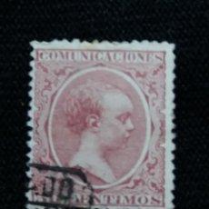 Sellos: CORREOS ESPAÑA, 50 CTS, ALFONSO XIII, AÑO 1889. . Lote 195425648