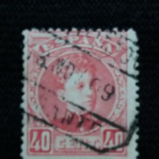 Sellos: CORREOS ESPAÑA, 40 CTS, ALFONSO XIII, AÑO 1901. SIN USAR. Lote 195426463