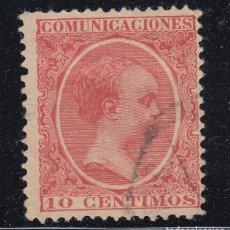 Sellos: 1889 EDIFIL 218 USADO. ALFONSO XIII TIPO PELON (220). Lote 195516586