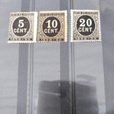Sellos: SELLOS CIFRAS IMPUESTO DE GUERRA 1898-99 ESPAÑA . Lote 196078252