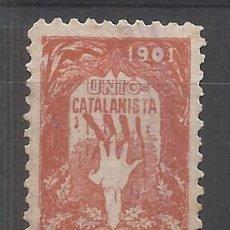 Sellos: UNIO CATALANISTA 1901 CATALUÑA CATALUNYA NUEVO(*). Lote 197525287