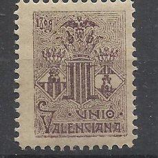 Sellos: UNIO VALENCIANA 1899 NUEVO* VALENCIA . Lote 197699353