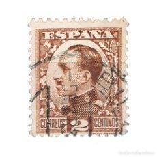 Sellos: [CF2639A] ESPAÑA 1930, REY ALFONSO XIII, 2 C. MARRÓN (U). Lote 197971423