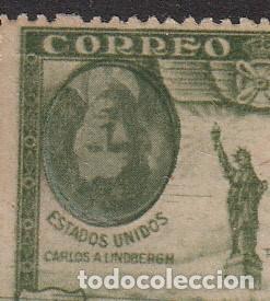 PRO UNION IBEROAMERCANA -CORREO AEREO NUM. 588 ----VARIEDAD,LA IMAGEN ESTÁ AL REVÉS ---MUY RARO---- (Sellos - España - Alfonso XIII de 1.886 a 1.931 - Nuevos)
