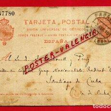 Sellos: POSTAL ANTIGUA ENVIADA DESDE SABADELL CON SELLO IMPRESO ORIGINAL P798. Lote 198727745