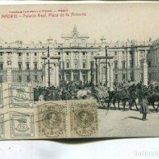 Sellos: 1913. CARTA TARJETA POSTAL MADRID A AUSTRIA. ALFONSO XVIII. . Lote 199087950