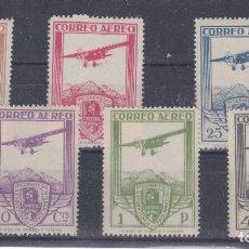 Sellos: ESPAÑA.- SERIE 483/88 NUMERACION A 00.000 NUEVA SIN CHARNELA ( FALSA). Lote 199197331