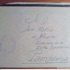 Sellos: ESPAÑA FRANQUICIA CORREOS CORELLA NAVARRA 1928. Lote 199651861
