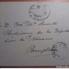 Sellos: ESPAÑA FRANQUICIA ADMINISTRACION CORREOS MOTRIL GRANADA 1929. Lote 199652640