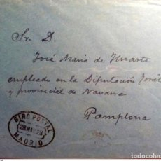 Sellos: ESPAÑA GIRO POSTAL MADRID ALFONSO XIII. Lote 199810650
