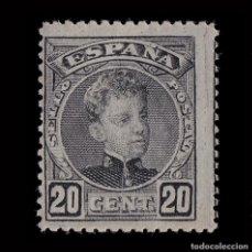 Selos: 1901-05.ALFONSO XIII.20C NEGRO.MNH.EDIFIL 247. Lote 200526261