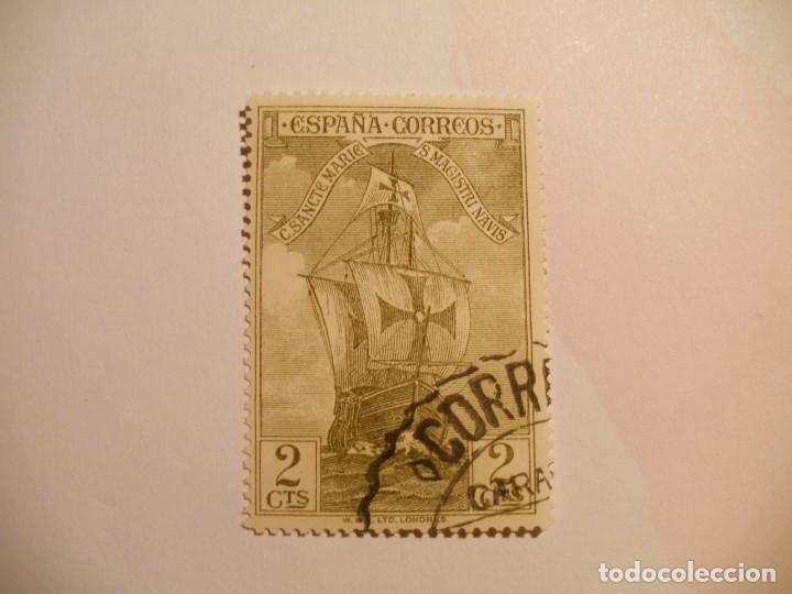 ESPAÑA 1930 - DESCUBRIMIENTO DE AMÉRICA - EDIFIL 533 - NAO SANTA MARIA. (Sellos - España - Alfonso XIII de 1.886 a 1.931 - Usados)