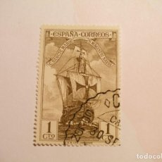 Sellos: ESPAÑA 1930 - DESCUBRIMIENTO DE AMÉRICA - EDIFIL 533 - NAO SANTA MARIA.. Lote 200787003