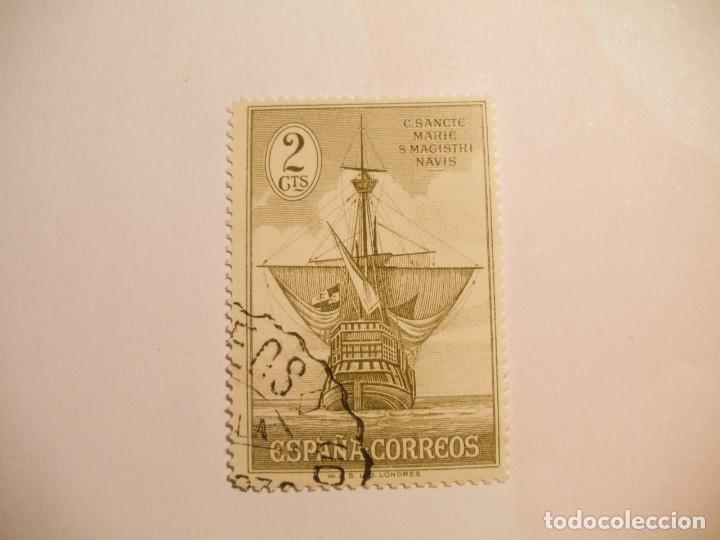 ESPAÑA 1930 - DESCUBRIMIENTO DE AMÉRICA - EDIFIL 532 - NAO SANTA MARIA. (Sellos - España - Alfonso XIII de 1.886 a 1.931 - Usados)