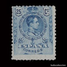 Sellos: 1909-22.ALFONSO XIII.25C MNH.EDIFIL.274. Lote 201186137