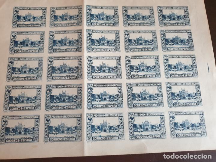 ESPAÑA PLIEGO-HOJA COMPLETA EDIFIL 576S (SIN DENTAR) IBEROAMERICANA PABELLON MEXICO AÑO 1930 (Sellos - España - Alfonso XIII de 1.886 a 1.931 - Nuevos)