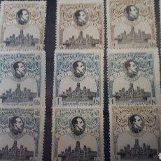 Sellos: SELLOS DE ESPAÑA CON GOMA ORIGINAL AÑO 1920 EDIF.297 Y 298 Y66. Lote 202863982