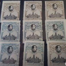Sellos: SELLOS DE ESPAÑA CON GOMA ORIGINAL AÑO 1920 EDIF.297 Y 298 Y67. Lote 202864037
