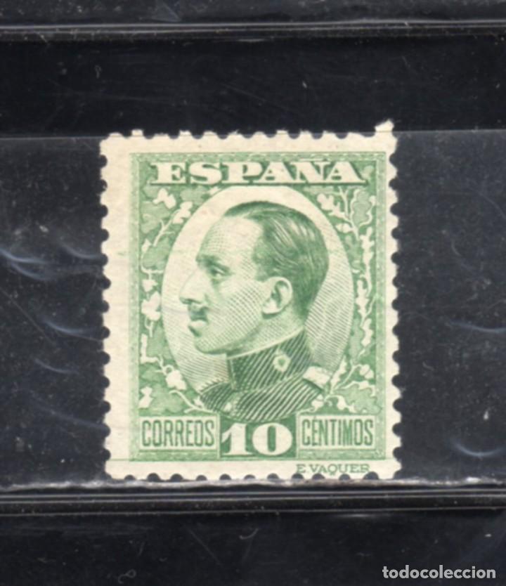 ED Nº 492*ALFONSO XIII VAQUER PERFIL CON SEÑAL DE FIJASELLOS (Sellos - España - Alfonso XIII de 1.886 a 1.931 - Nuevos)