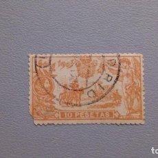 Sellos: ESPAÑA - 1905 - ALFONSO XIII - EDIFIL 266 - SELLO CLAVE DE LA SERIE - VALOR CATALOGO 260€.. Lote 203890383