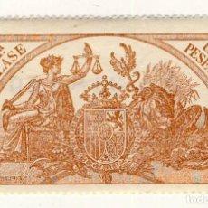 Sellos: SELLO FISCAL DE 1904- CLASE 11.- 1 PESETA.- CASTAÑO AMARILLO.-** (3). Lote 203913455