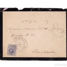 Sellos: CARTERÍA, MATASELLOS. ATIENZA.(GUADALAJARA).1913.. Lote 203917720