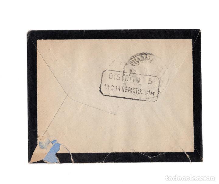 Sellos: CARTERÍA, MATASELLOS. REBOLLOSA DE HITA.(GUADALAJARA).1914. - Foto 2 - 203917801