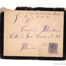 Sellos: CARTERÍA, REBOLLOSA DE HITA.(GUADALAJARA).1914.. Lote 204170411