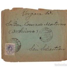 Sellos: CARTERÍA, MATASELLOS. BRIHUEGA.(GUADALAJARA).1913.. Lote 204170790