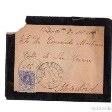 Sellos: CARTERÍA, MATASELLOS. BRIHUEGA.(GUADALAJARA).1914.. Lote 204170992
