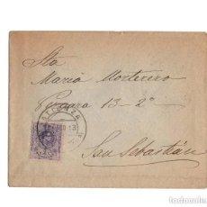 Sellos: CARTERÍA, MATASELLOS. ATIENZA.(GUADALAJARA).1913.. Lote 204171480
