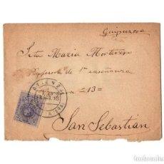 Sellos: CARTERÍA, MATASELLOS. ATIENZA.(GUADALAJARA).1913.. Lote 204171695