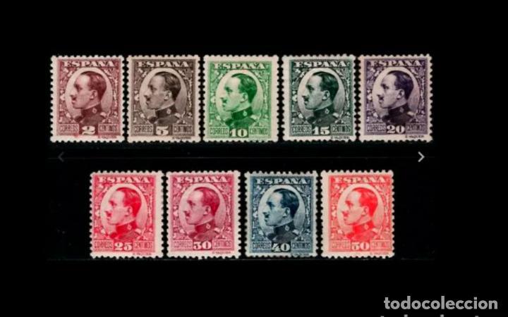 V- ESPAÑA - 1930-1931 - ALFONSO XIII - EDIFIL 490/498 - SERIE COMPLETA - MNH**/* - NUEVOS. (Sellos - España - Alfonso XIII de 1.886 a 1.931 - Nuevos)