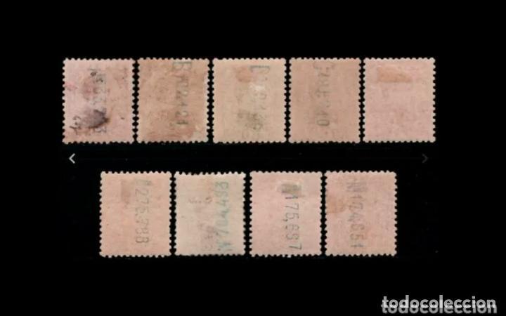 Sellos: V- ESPAÑA - 1930-1931 - ALFONSO XIII - EDIFIL 490/498 - SERIE COMPLETA - MNH**/* - NUEVOS. - Foto 2 - 204226998