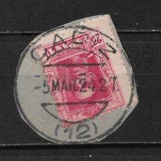 Timbres: ESPAÑA 1922 EDIFIL 317 USADO CADIZ - 15/49. Lote 204406138